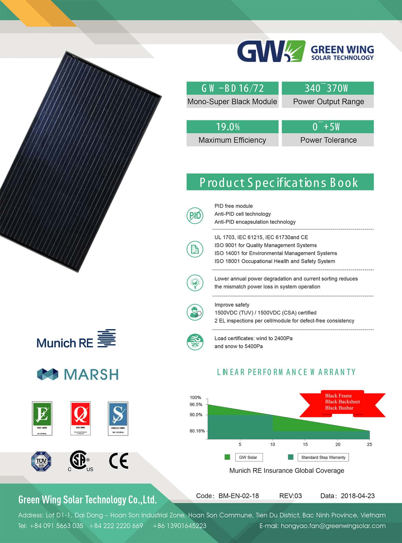 pin nang luong mat troi solar WG